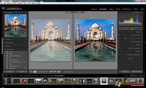 Skærmbillede Adobe Photoshop Lightroom Windows XP