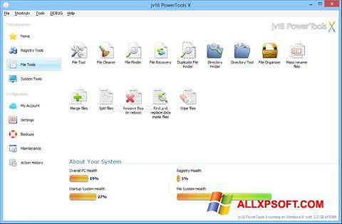 Skærmbillede jv16 PowerTools Windows XP