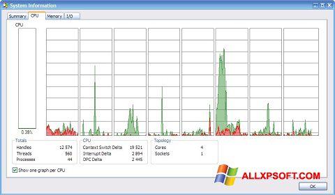 Skærmbillede AMD Dual Core Optimizer Windows XP