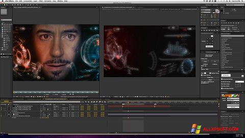 Skærmbillede Adobe After Effects Windows XP