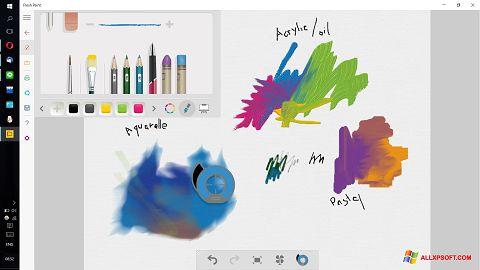 Skærmbillede Fresh Paint Windows XP