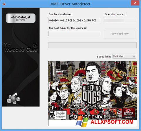 Skærmbillede AMD Driver Autodetect Windows XP