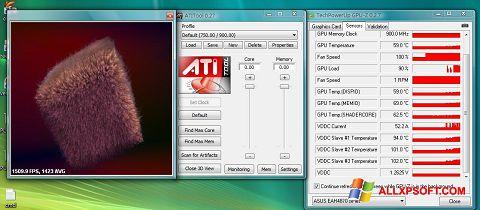 Skærmbillede ATITool Windows XP