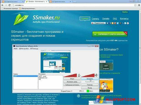 Skærmbillede SSmaker Windows XP