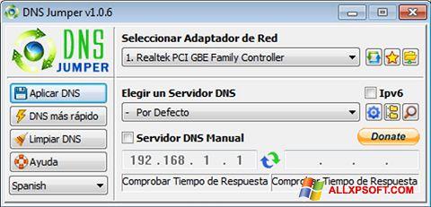 Skærmbillede DNS Jumper Windows XP