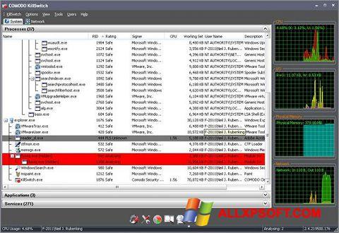 Skærmbillede Comodo Cleaning Essentials Windows XP