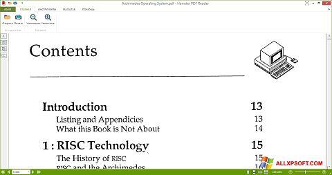 Skærmbillede Hamster PDF Reader Windows XP
