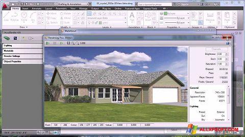 Skærmbillede AutoCAD Windows XP