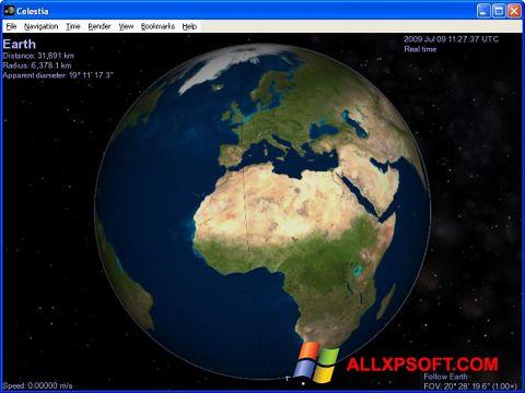 Skærmbillede Celestia Windows XP