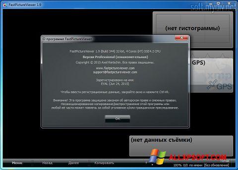 Skærmbillede FastPictureViewer Windows XP