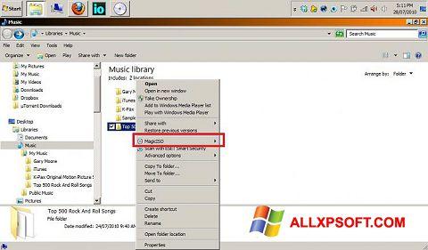 Skærmbillede MagicISO Windows XP