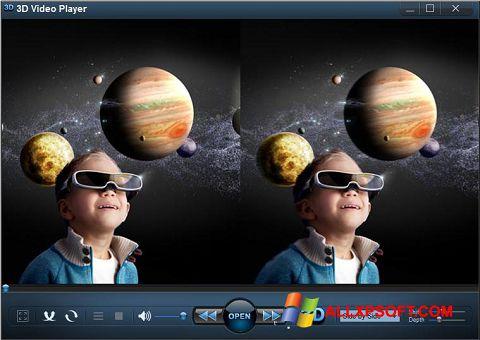 Skærmbillede 3D Video Player Windows XP