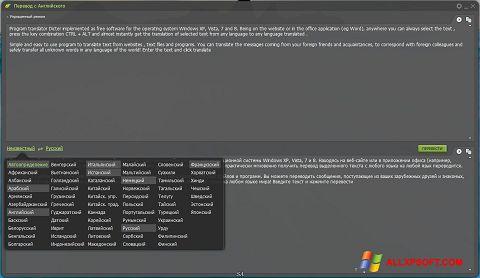 Skærmbillede Dicter Windows XP
