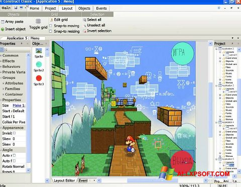 Skærmbillede Construct Classic Windows XP