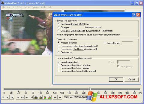 Skærmbillede VirtualDubMod Windows XP