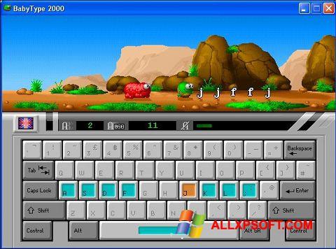 Skærmbillede BabyType Windows XP