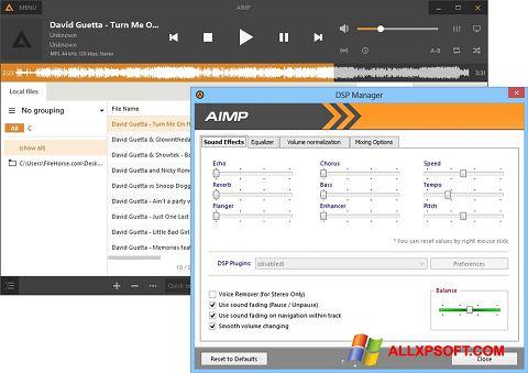 Skærmbillede AIMP Windows XP