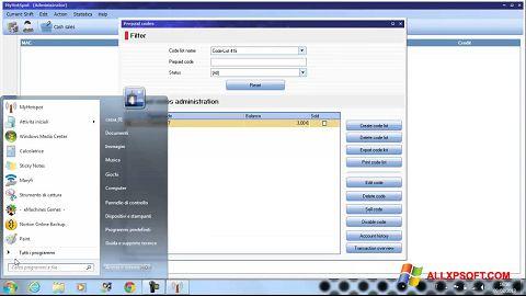Skærmbillede MyHotspot Windows XP