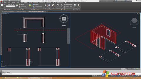 Skærmbillede AutoCAD Architecture Windows XP