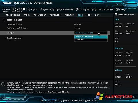 Skærmbillede SSD Tweaker Windows XP
