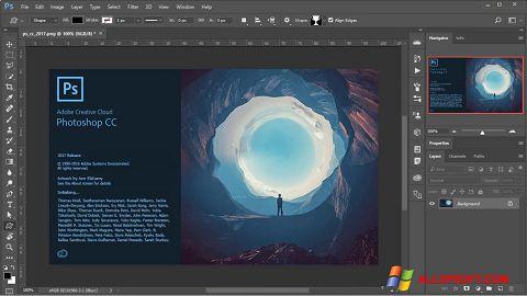 Skærmbillede Adobe Photoshop Windows XP