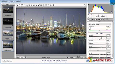 Skærmbillede Adobe Camera Raw Windows XP