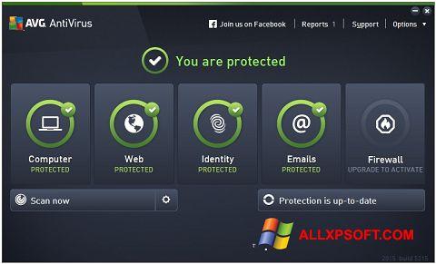 Skærmbillede AVG AntiVirus Pro Windows XP