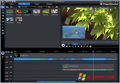 Skærmbillede CyberLink PowerDirector Windows XP