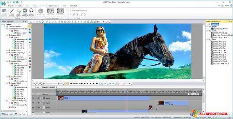 Skærmbillede Free Video Editor Windows XP