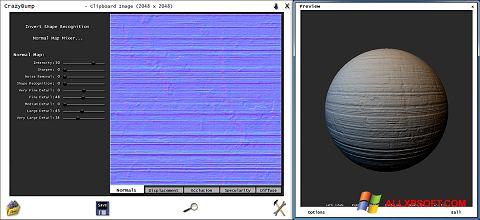 Skærmbillede CrazyBump Windows XP