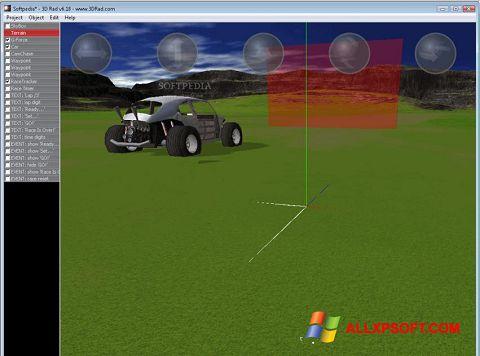 Skærmbillede 3D Rad Windows XP