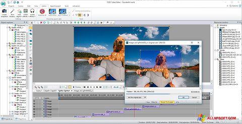 Skærmbillede VSDC Free Video Editor Windows XP