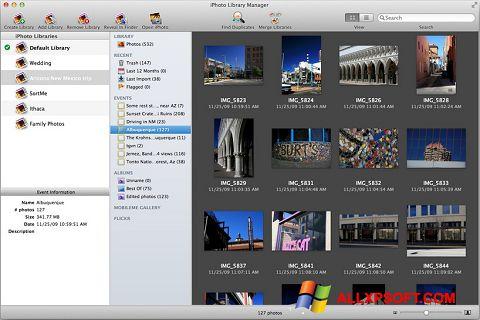 Skærmbillede iPhoto Windows XP