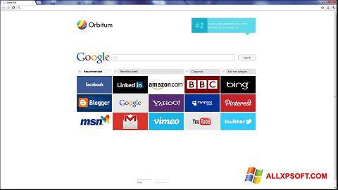 Skærmbillede Orbitum Windows XP