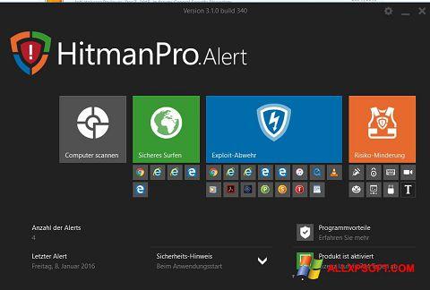 Skærmbillede HitmanPro Windows XP