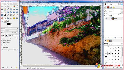 Skærmbillede GIMP Windows XP