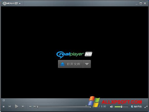 Skærmbillede RealPlayer Windows XP