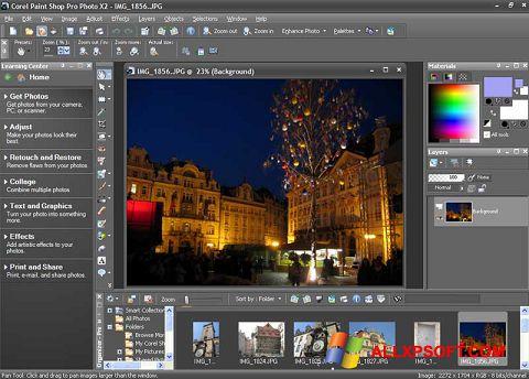Skærmbillede PaintShop Pro Windows XP