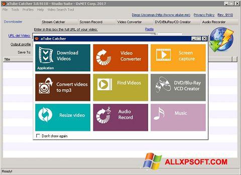 Skærmbillede aTube Catcher Windows XP