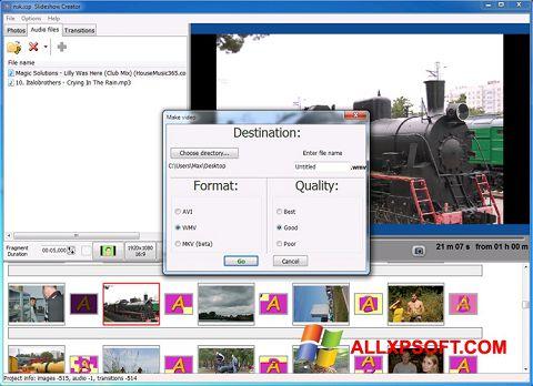 Skærmbillede Bolide Slideshow Creator Windows XP