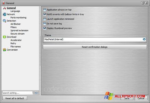 Skærmbillede VSO Downloader Windows XP