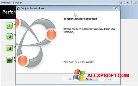 Skærmbillede Bonjour Windows XP