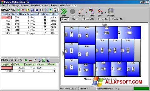 Skærmbillede Cutting Windows XP