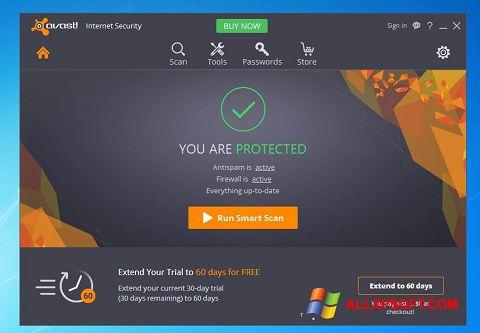 Skærmbillede Avast Internet Security Windows XP