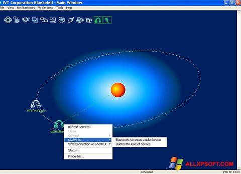 Skærmbillede BlueSoleil Windows XP