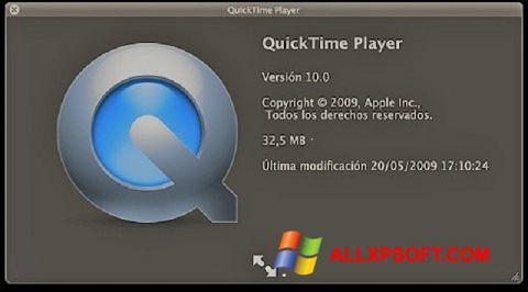 Skærmbillede QuickTime Windows XP