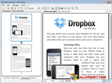 Skærmbillede STDU Viewer Windows XP