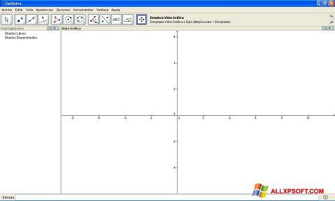 Skærmbillede GeoGebra Windows XP