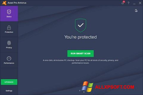 Skærmbillede Avast! Pro Antivirus Windows XP