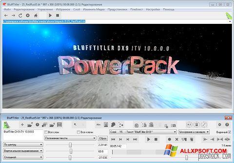 Skærmbillede BluffTitler Windows XP